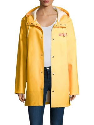 Yellow Stutterheim Raincoat