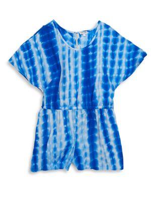 SPLENDID | Girl's Tie-Dye Romper | Goxip