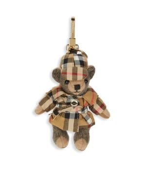 Thomas Bear Keychain by Burberry