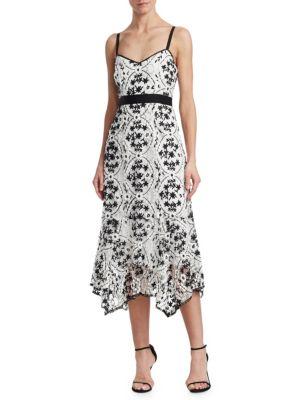 Debut Floral Embroidered Dress
