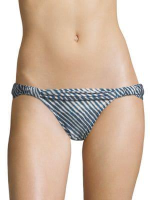 VIX BY PAULA HERMANNY Corales Striped Bikini Bottom