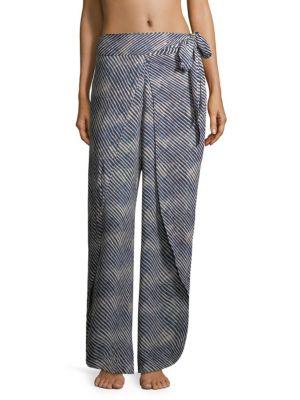 VIX BY PAULA HERMANNY Corales Striped Pants