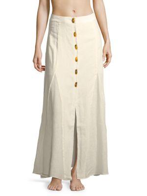 VIX BY PAULA HERMANNY Ivory Skirt