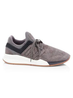 Luxe Suede Sneakers