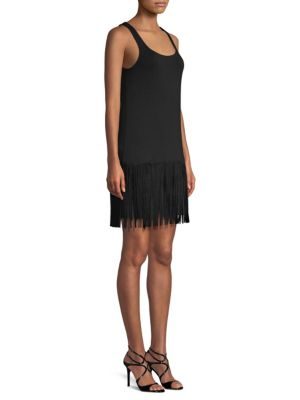 Dead Or Alive Fringe Mini Dress