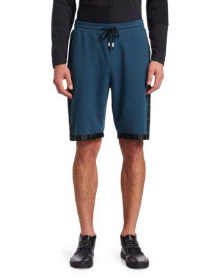 Grosgrain Trim Knit Shorts
