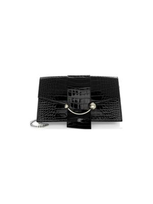 STRATHBERRY The Mini Crescent Clutch