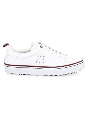 G/FORE Patriot Disruptor Leather Low-Top Sneakers