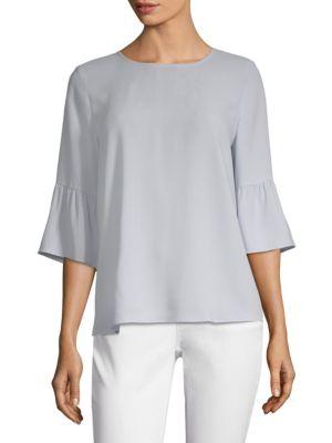 Sale alerts for  Silk Bell Sleeve Top - Covvet
