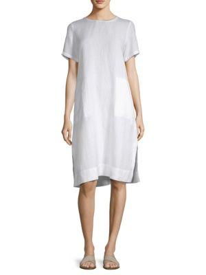 Roundneck Knee-Length Dress