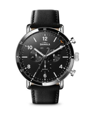 The Canfield Sport Chronograph Calendar Watch