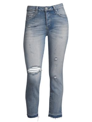 Babe Distressed Jeans