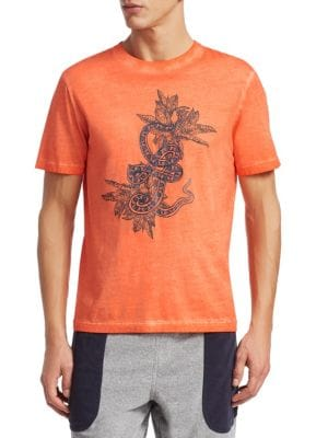 Dragon Distressed Graphic Tee