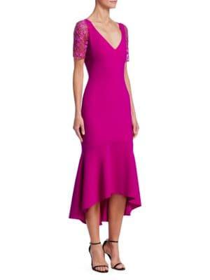 Embellished Crepe Dress from Saks Fifth Avenue