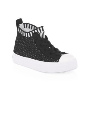 Baby's & Kid's Jefferson Knit High-Top Sneakers