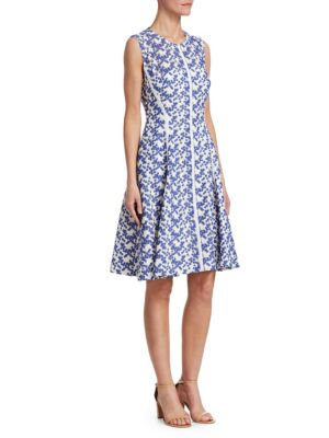 Seamed Lace Dress