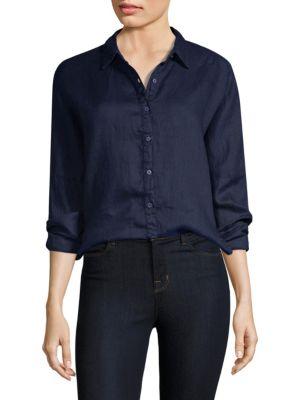Linen Oxford Shirt