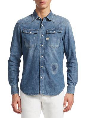 3301 Graft Slim Fit Denim Shirt