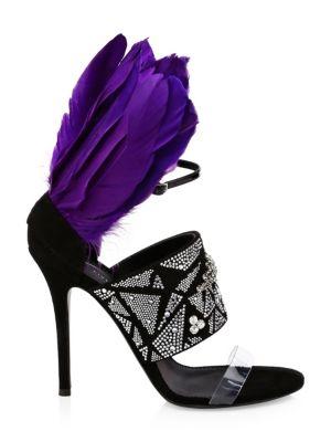 Crystal Stiletto Sandals