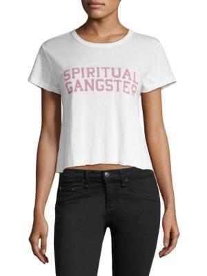 SG Varsity Crop Tee Shirt