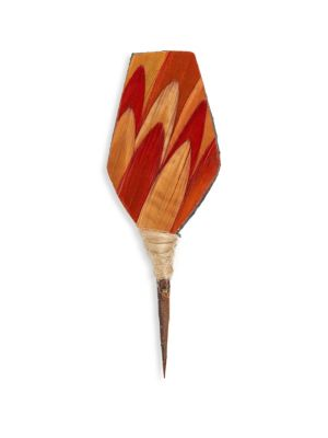 BRACKISH Ember Feather Pin