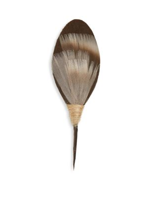 BRACKISH Folly Feather Plum Thicket Pin