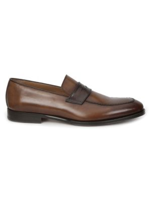 Fanetta Leather Penny Loafers