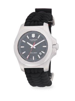 VICTORINOX SWISS ARMY Inox Paracord Woven Strap Watch