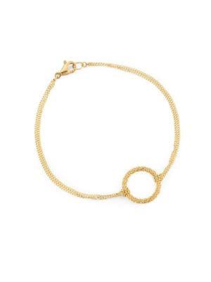 Stardust 18K Gold Chain Bracelet
