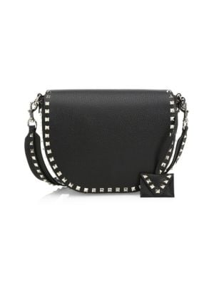 Rockstud Saddle Bag by Valentino Garavani