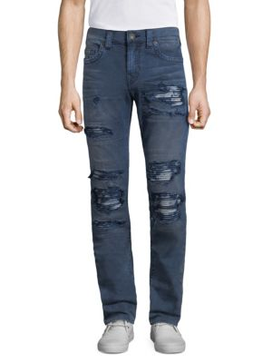 Single End Distressed Jeans 0400097698843