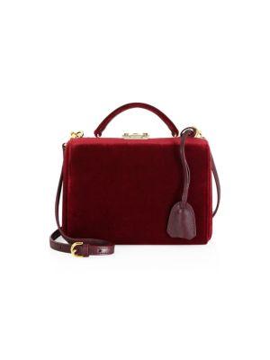 Small Grace Velvet Box Bag