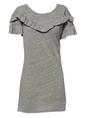Adalie Ruffle T-Shirt Dress