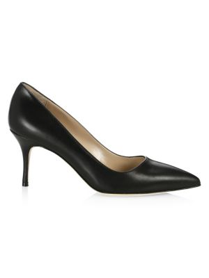 BB 70 Leather Point Toe Pumps