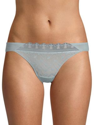 MAISON LEJABY Romance Embroidered Thong