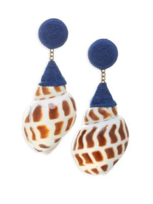 Ophelia Shell Earrings