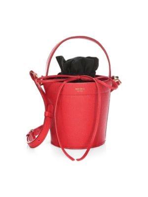 The Madeline Leather Bucket Bag
