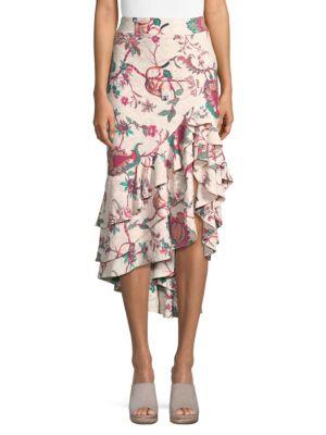 Jungle-Print Skirt