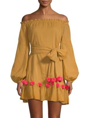 Charlotte Off-The-Shoulder Dress