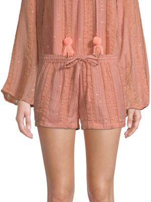 SUNDRESS Anais Shimmer Shorts