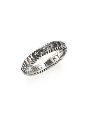KING BABY STUDIO Truth Sterling Silver Stackable Ring