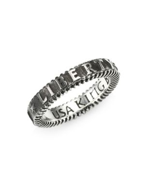 KING BABY STUDIO Sterling Silver Liberty Ring