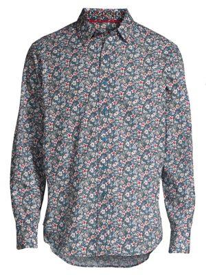 Varela Cotton Button-Down Shirt