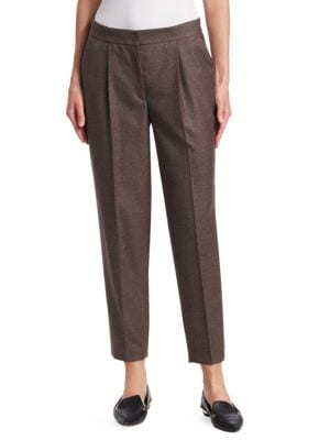 Maiko Wool Ankle Trousers
