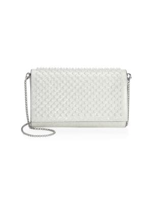 Paloma Patent Coquillage Leather Shoulder Bag