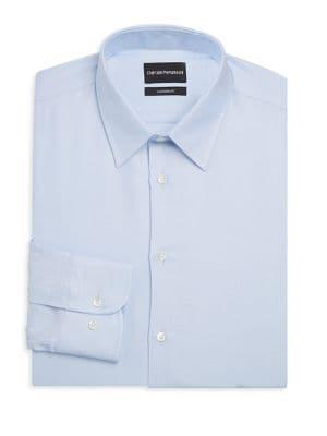 Modern Fit Tonal Dot Dress Shirt