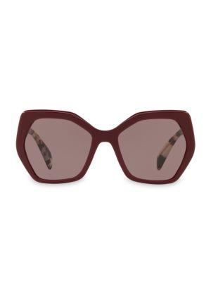 56mmTinted Tortoise Sunglasses