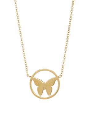 Tatianna Butterfly Necklace
