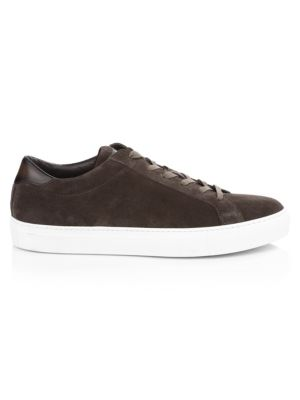 Knox Lace-Up Suede Sneakers
