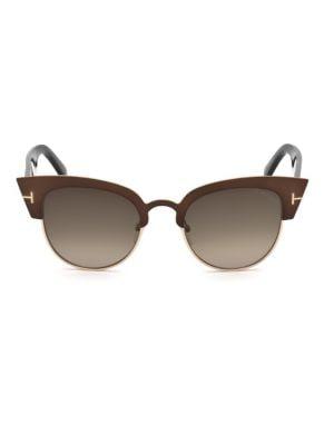 55MM Alexandra Cat Eye Gradient Sunglasses
